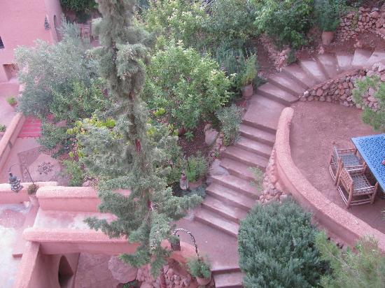 Chez Pierre : le scale e le terrazze