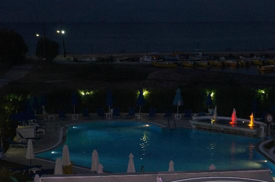 Three Brothers Hotel : view from room balcony
