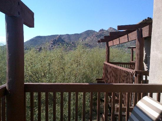 Boulders Resort & Spa, Curio Collection by Hilton : View from balcony