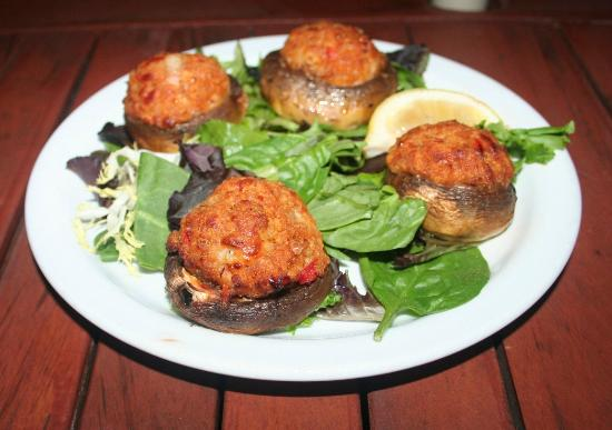 Scampi: Stuffed Mushrooms