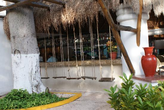 Real Playa del Carmen: gezellig zitten