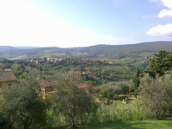 Relais Santa Chiara Hotel: Colline attorno
