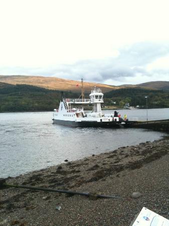 Inn at Ardgour: Ferry