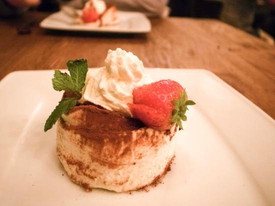 Restaurant La Forca: Dessert: Tiramisu