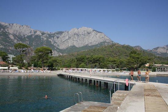 Club Marmara Kimeros Hotel: vue du ponton