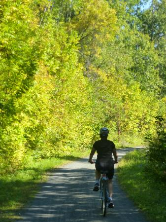 L petit Train du Nord Cycling Route: Getting away in the green cycling environment