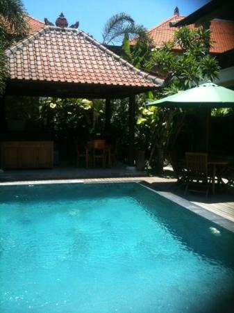 Amansari Villa: zwembad(je) en plaats waar ontbijt geserveerd wordt.