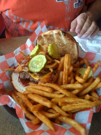 Monk's Bar & Grill : Wild West Burger