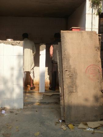 Hotel New India : located at slums