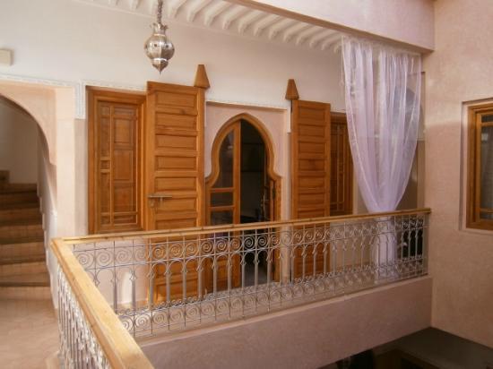Riad Mazaya: Vue d'une chambre