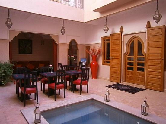 Riad Mazaya: Patio