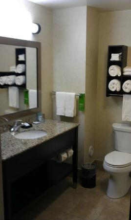 Hampton Inn Pigeon Forge: great bathroom