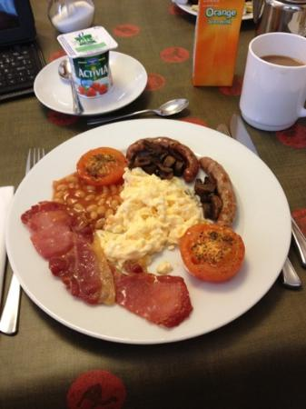 Amberley Guest House: Full english breakfast