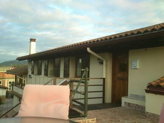 Caserio Gure Ametsa: Desde la terraza del caserio