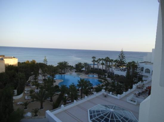 SENTIDO Aziza Beach Golf & Spa: View from our balcony