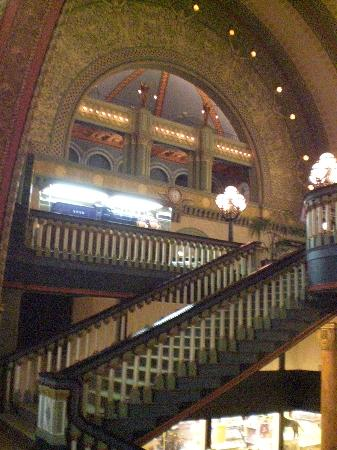 The Grand Staircase Inside The St Louis Union Station Now