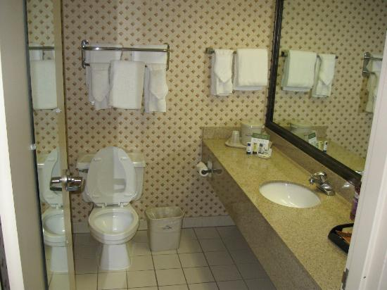 Baymont Inn & Suites Washington: Another view of the bathroom