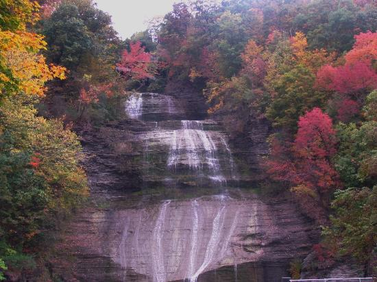 Finger Lakes : She-Qua-Ga Falls
