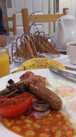ستونتون هاوس: Breakfast 