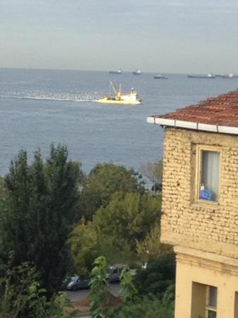 Berce Otel: marmara view from the terrace