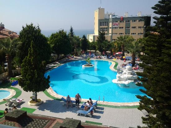 Tropicana Garden Hotel: pool area