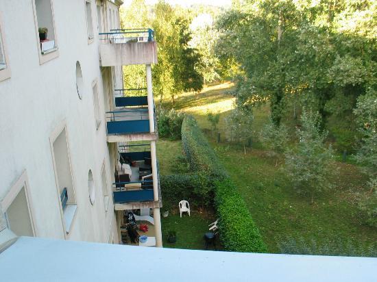 Residence Hotel Les Ducs de Chevreuse: (photo 2) vue de notre chambre