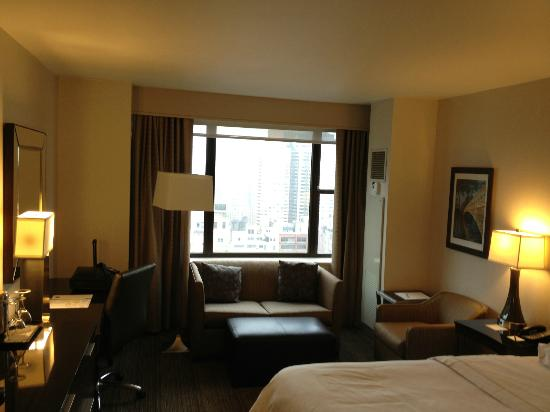 The Westin New York Grand Central: Nice and new room -- very efficient