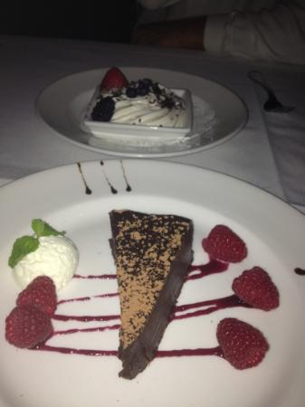 The Capital Grille : mousse and expresso cake
