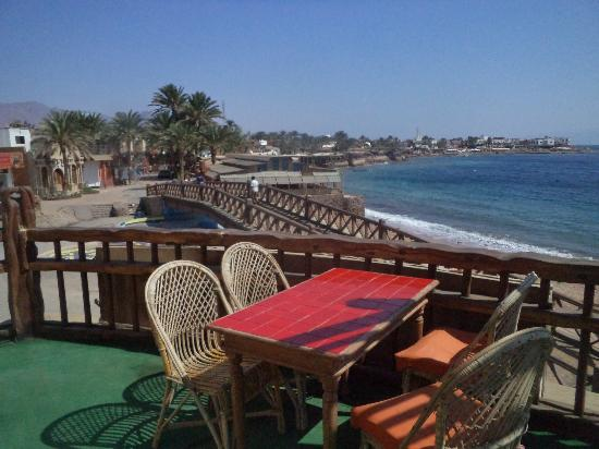 Neptune Hotel: the terrace