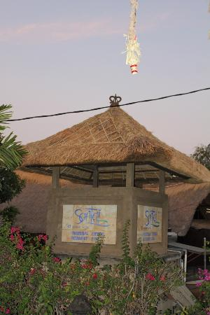 Santai Hotel Bali: Entrance