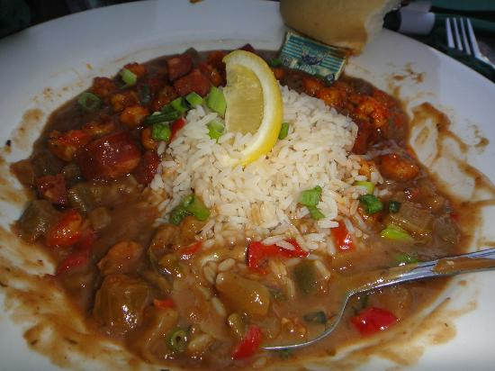 Hard Rock Hotel at Universal Orlando: Shrimp Etoufee at Pat O'Briens!