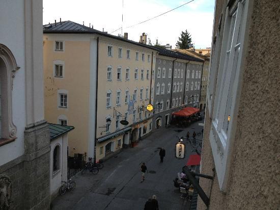 Pension Junger Fuchs Hotel: Vista dalla nostra camera