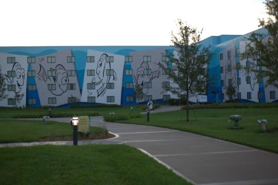 Disney's Art of Animation Resort: Little Mermaid area