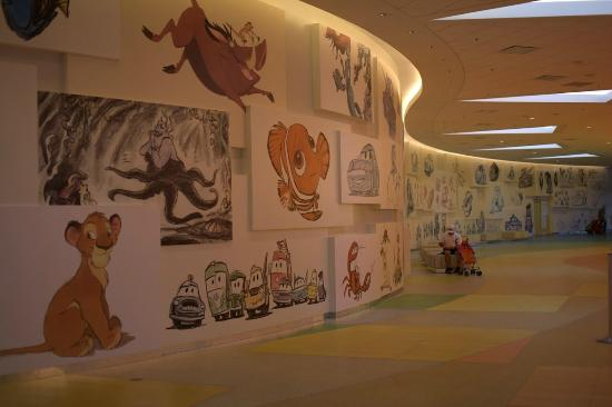 Disney's Art of Animation Resort: Inside main building