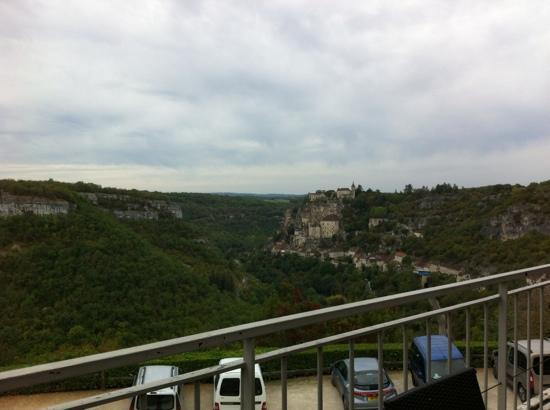 Le Belvédère : vue de la terrasse