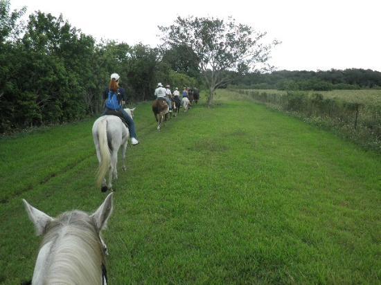 Bar-B-Ranch: riding along