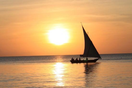 Diving Poseidon: Sunset