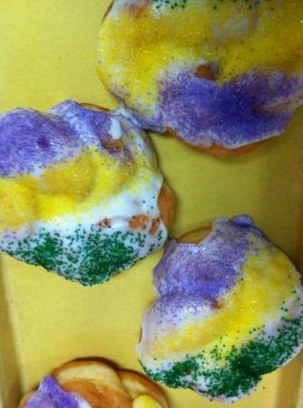 The Porter Avenue Bistro: king cake donuts