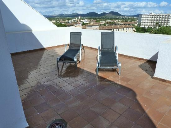 Protur Palmeras Playa: Private terrace