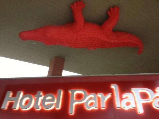 Hotel Parlapa: l'ingresso