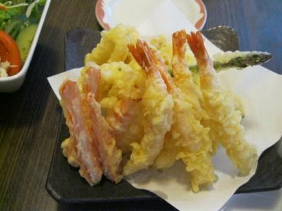 Sayuri Japanese Restaurant: このシーフード天ぷらは美味しかったです。