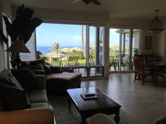 The Kapalua Villas, Maui: beach view villa