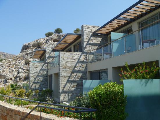Lindos Blu: balcons chambres et suites