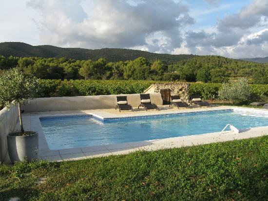La Bastide st Victor : Het zwembad - dicht achter het huis