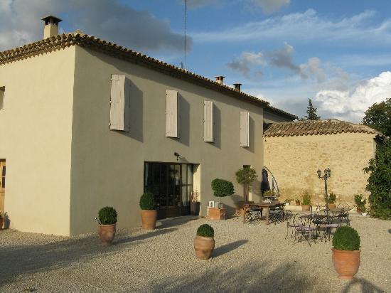 La Bastide st Victor: Het huis met de kamers - de entree