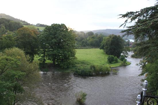 White Waters Country Hotel: View from River Dee Room Balcony