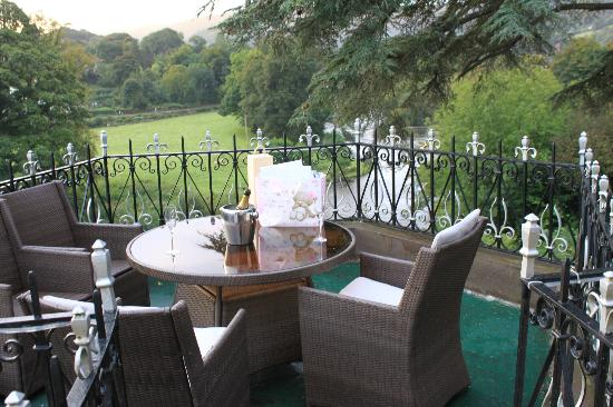 White Waters Country Hotel: River Dee Room Balcony