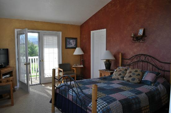 Bryce Canyon Livery Bed and Breakfast: Unser Zimmer