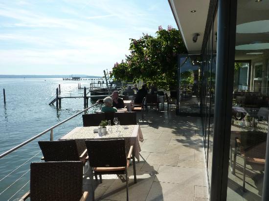Hotel Zur Winzerstube: See-Terrasse-Wintergarten