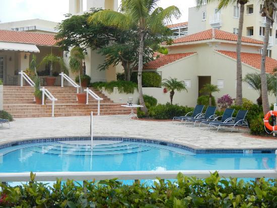 Las Casitas Village, A Waldorf Astoria Resort: Pool outside Villa Door - one of many